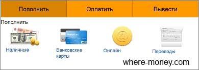 Как пополнить счет Киви кошелек