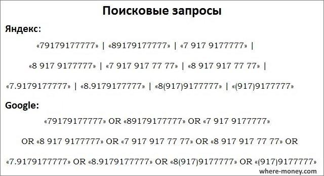найти человека по номеру сотового телефона