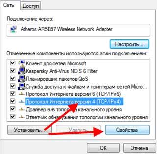 Протокол TCP/IPv4
