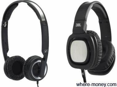 Sennheiser PX 200 II и JBL On-Ear Headphone J88