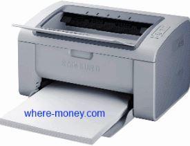 черно-белый лазерный принтер Samsung