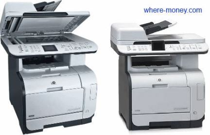 МФУ HP Color LaserJet CM2320