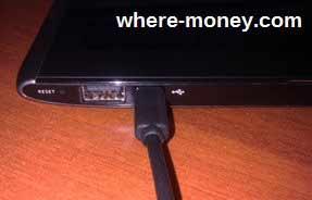 подключить планшет к компьютеру через usb