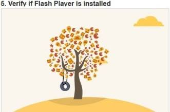 flash player работает