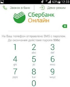 SMS пароль
