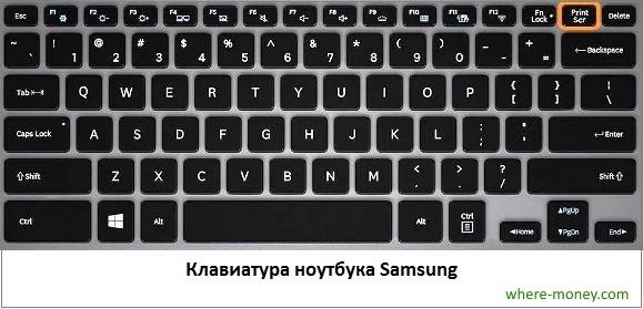 Клавиатура Самсунг