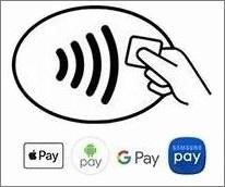 Значок бесконтактной оплаты