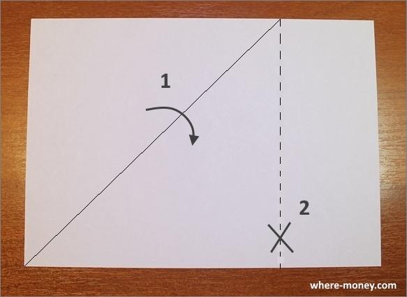 Лист бумаги формата А4